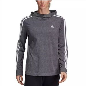 NEW ADIDAS CLIMALITE JERSEY HOODIE